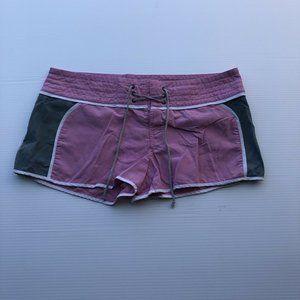 Victoria Secret Pink Gray Casual Nylon Shorts
